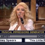 Wenn Christina Britney imitiert …