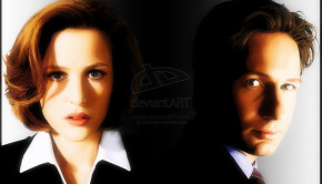 Mulder_And_Scully_by_demonika