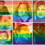 Hollywood surft am Regenbogen